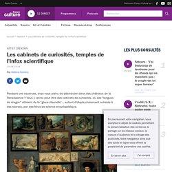 Les cabinets de curiosités, temples de l'infox scientifique