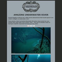 Amazing Underwater River