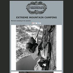 Extreme Mountain Camping