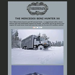 The Mercedes Hunter X6