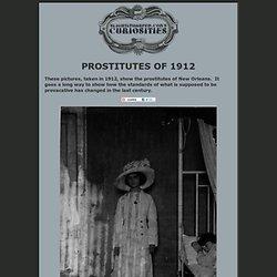 Prostitutes of 1912