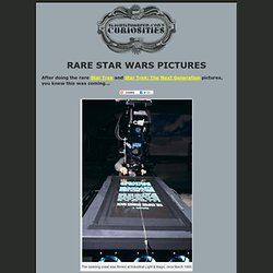 Rare Star Wars Pictures