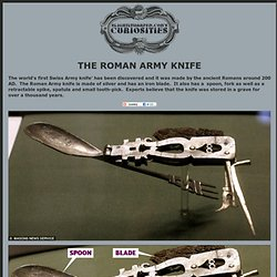 The Roman Army Knife