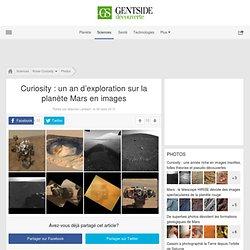Curiosity: un an d'exploration sur la planète Mars en images