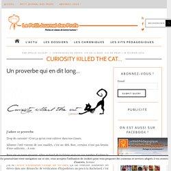 Curiosity killed the cat...