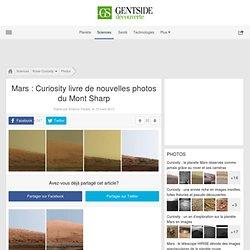 Photos - Mars : Curiosity livre de nouvelles photos du Mont Sharp