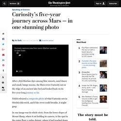 NASA Curiosity panorama shows journey so far in one photo