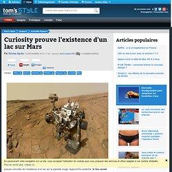 Curiosity prouve l'existence d'un lac sur Mars