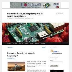 Un rover «Curiosity» à base de Raspberry Pi
