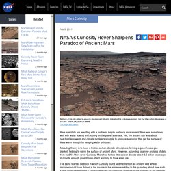 s Curiosity Rover Sharpens Paradox of Ancient Mars