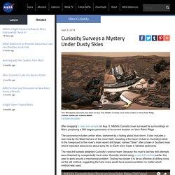*****360 interactive of Mars: Curiosity Surveys a Mystery Under Dusty Skies