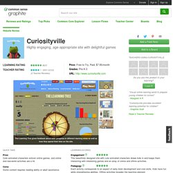Curiosityville Educator Review