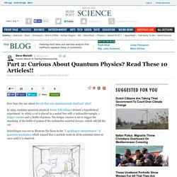 Part 2: Curious About Quantum Physics? Read These 10 Articles!!