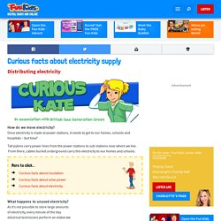 Curious facts about electricity supply - Fun Kids - the UK's children's radio station