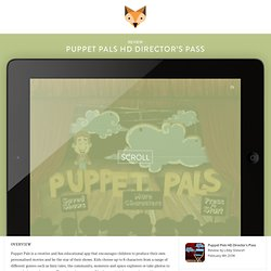 Puppet Pals HD Director's Pass