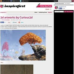 3d artworks by Curious3d