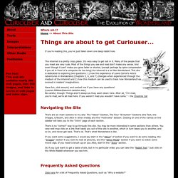 "About ""Curiouser and Curiouser: The Evolution of Wonderland"" Site"