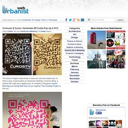 Curiouser and Curiouser: Handmade QR Codes Pop Up in NYC