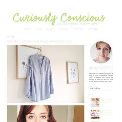 UK Healthy Living Blog: Nomads Clothing: Fair trade fashion review