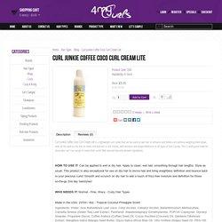 Curl Junkie Coffee Coco Curl Cream Lite