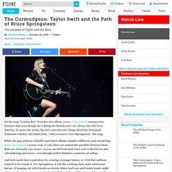 The Curmudgeon: Taylor Swift and the Path of Bruce Springsteen - Paste