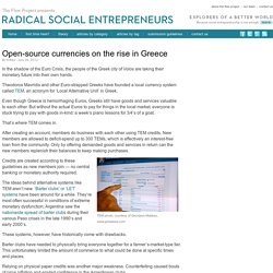 Open-source currencies on the rise in Greece