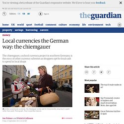 Local currencies the German way: the chiemgauer | Money