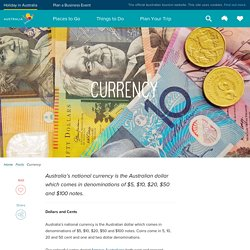 Currency in Australia