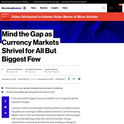 Mind the Gap as Currency Markets Shrivel for All But Biggest Few