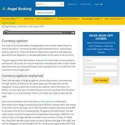 Currency Options: All About Types, Process etc at Angel Broking
