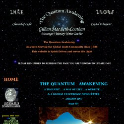 Current Quantum Awakening Newsletter