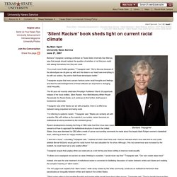 'Silent Racism' book sheds light on current racial climate : University News Service : Texas State University