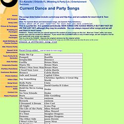 Teen Party Songs