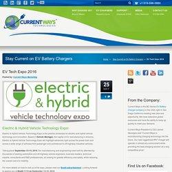 Electric & Hybrid Vehicle Technology Expo 2016