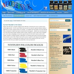 Current Noodler's Ink Colors – Noodler's Ink