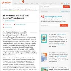 Web Design Trends 2010 - Smashing Magazine
