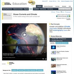 Ocean Currents and Climate