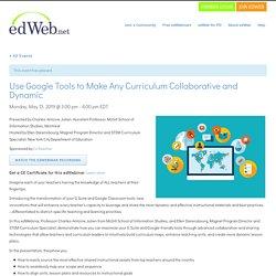 CoTeacher - Google Tools for Collaborative & Dynamic Curricula