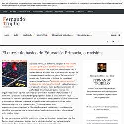 El currículo básico de Educación Primaria, a revisión