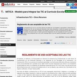 MITICA - Modelo para Integrar las TIC al Currículo Escolar > Infraestructura TIC > Otros Recursos