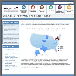 Common Core Curriculum & Assessments