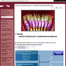 nuevocurriculoycompetencias.wikispaces