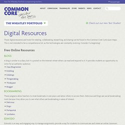 Common Core Curriculum Maps | Digital Resources