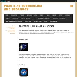 Educational Apps Part 8 – Science