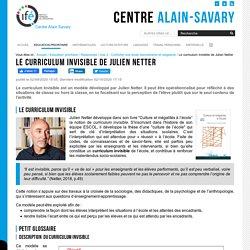 Le curriculum invisible de Julien Netter