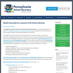 PSLA Model Curriculum