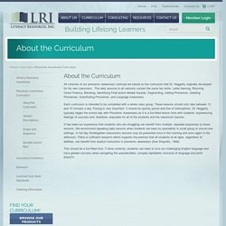 LRI About the Curriculum