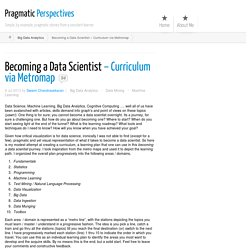 Becoming a Data Scientist - Curriculum via Metromap ← Pragmatic Perspectives