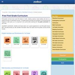 1st Grade Curriculum – Kids Printable Resources – JumpStart