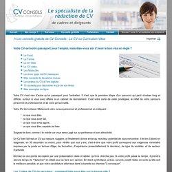 Faire son CV : Un professionnel vous aide !